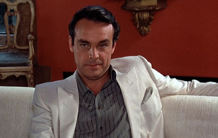 Alejandro Sosa (from Scarface, 1983). Portrayed by Paul Shenar