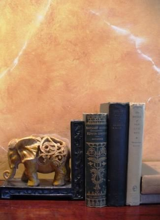 How to faux paint marble