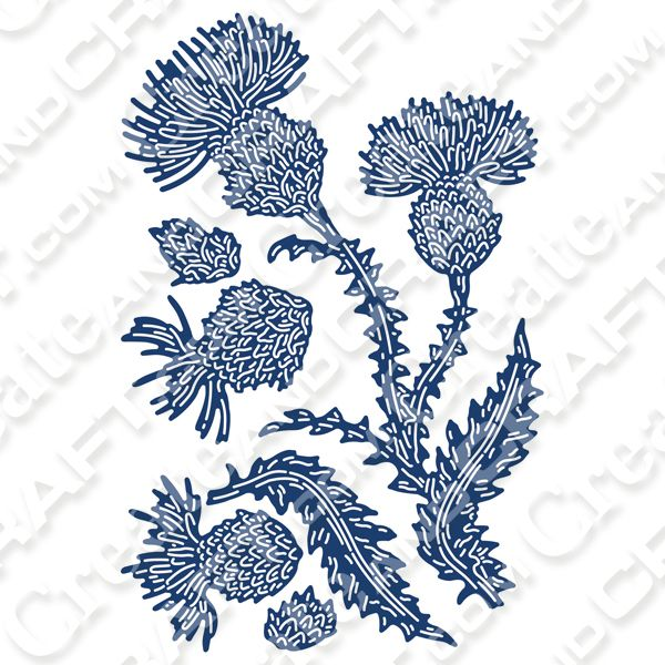 Tattered Lace Natures Bouquet Ivy Cutting Dies 482157