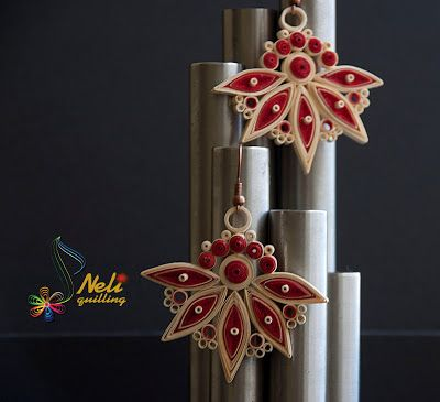 neli: Quilling earrings