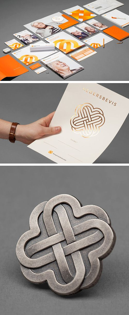 Sometimes a special touch such as a little gold foil can make the impression you are looking for! - #Corporate Identity #Branding