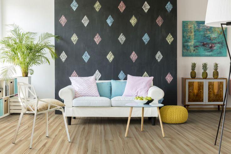 young living mit Classen home. Dieses Ahorn Laminat-Dekor macht sich super in einem jungen Wohnzimmer www.classen.de