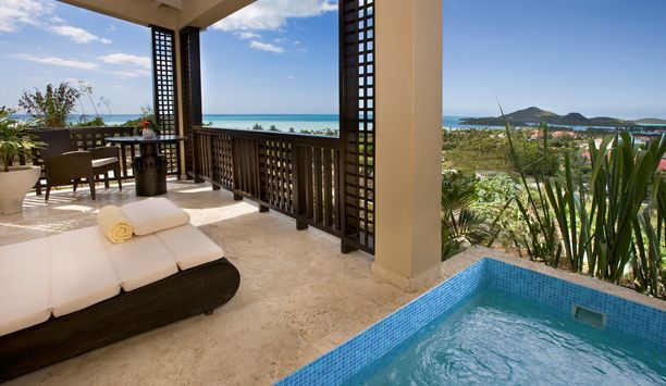 Sugar Ridge Deluxe King With Plunge Pool Rooms Are 550