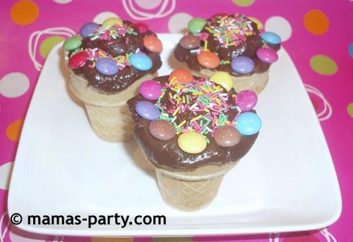 cones cake by mamas-party.com
