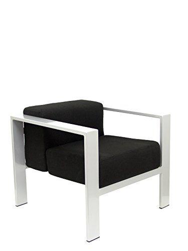 PIQUERAS Y CRESPO Modelo Lazaro - Sofa de Modulo/espera de una plaza - Tapizado en tejido BALI color negro #sofa #modulos Para ver mas visita este enlace https://cadaviernes.com/ofertas-de-sofas-de-modulos/