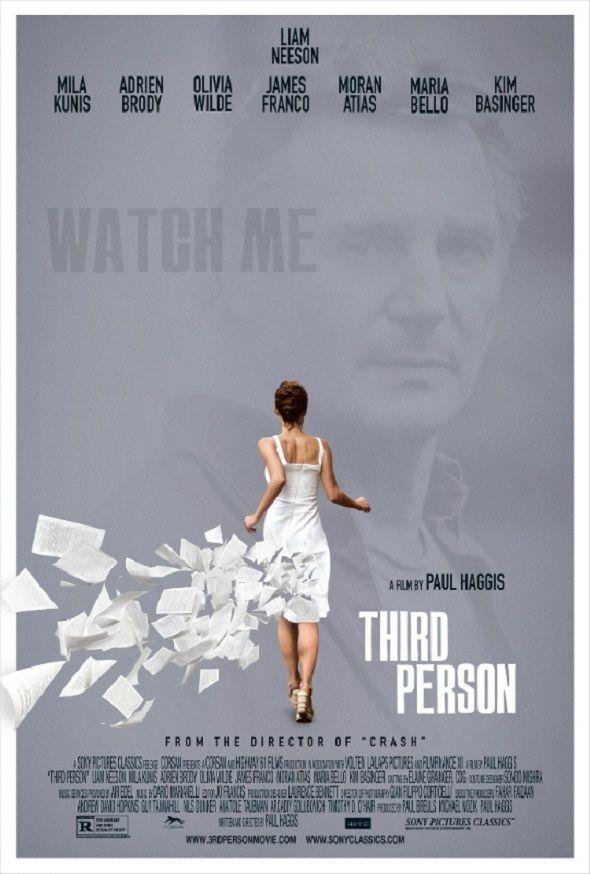 Póster de 'Third person', la nueva película de Paul Haggis con Liam Neeson