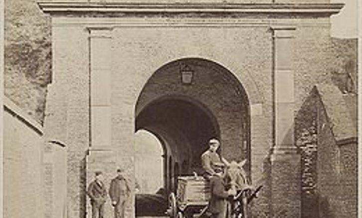 Oosterpoort Groningen ca 1897