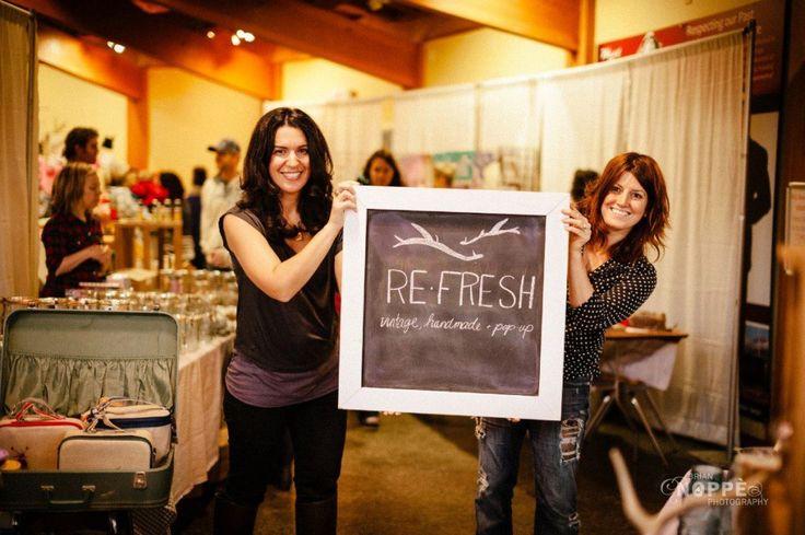 About - Re-Fresh Market | Handmade, Vintage + Pop-Up