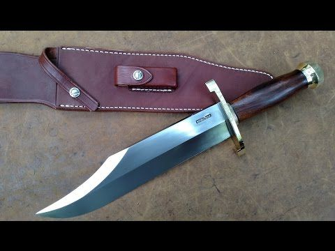 how to clean your bowie knife