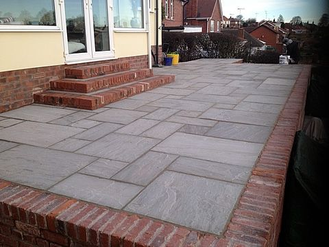 The light but conservative color makes Kandla gray tiles in an excellent choice for giving your driveways, paths and patio areas......