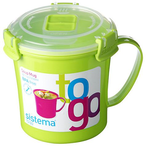Buy Sistema Soup To Go Mug Online at johnlewis.com