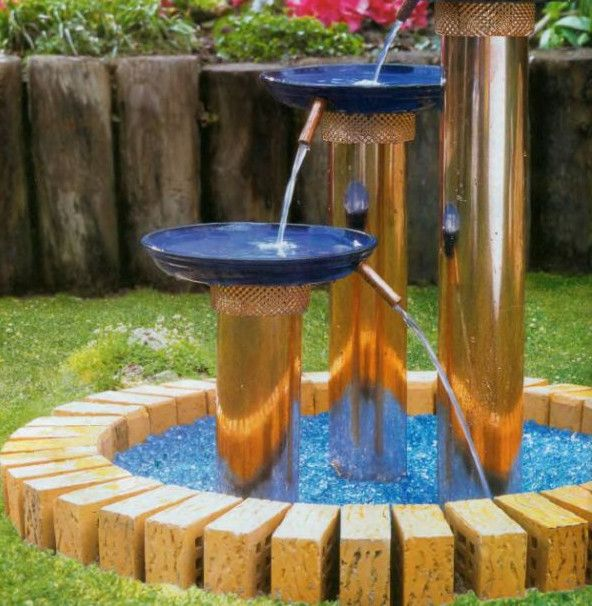 Backyard Fountains & Waterfalls