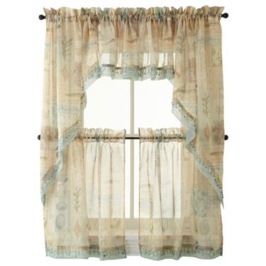 1000 images about seaside themed bathroom on pinterest - Jcpenney bathroom window curtains ...