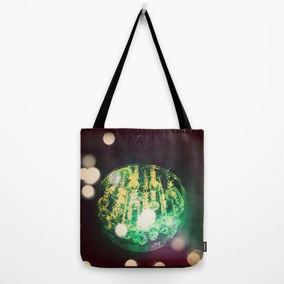 UFO ORB Tote Bag by Parastar Arts   Society6
