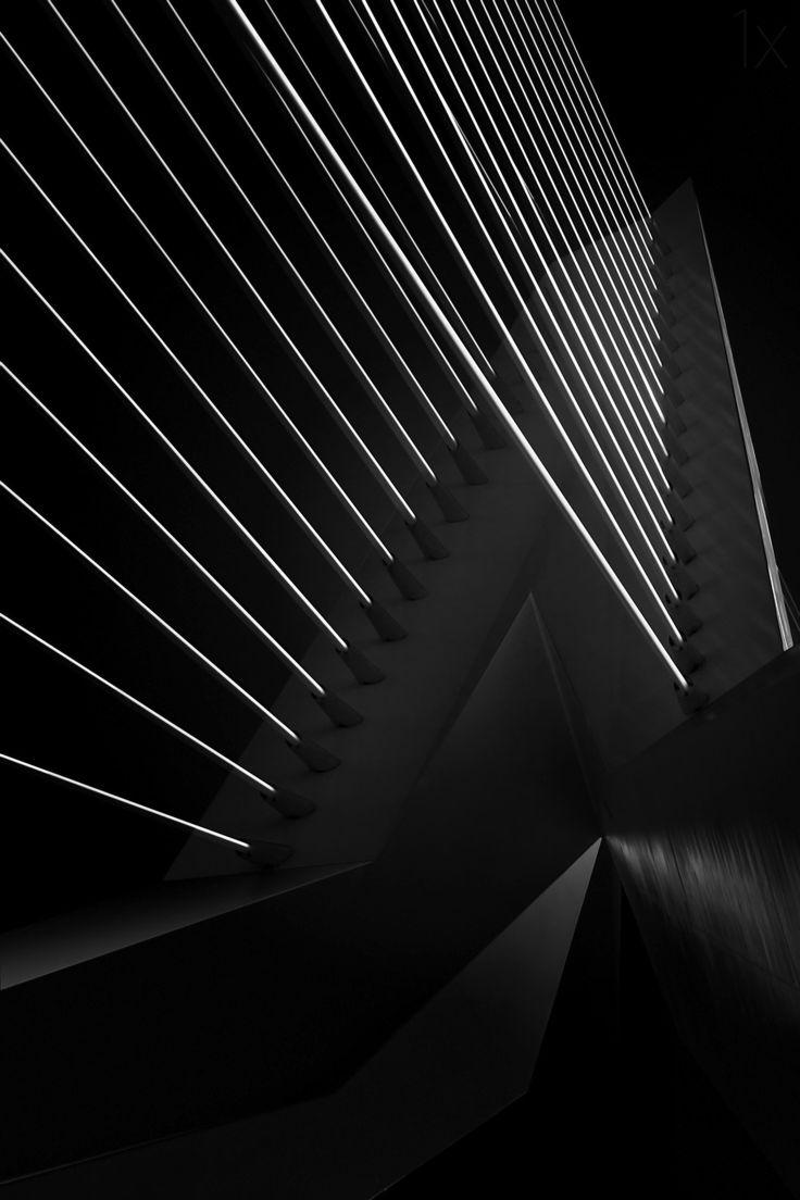 1X - Rotterdam - Erasmusbrug II by Arnd Gottschalk