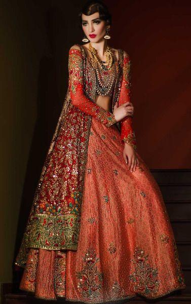 Tenna Durrani Bridals 2016 (Desi Bridal Shaadi Indian Pakistani Wedding Mehndi Walima)