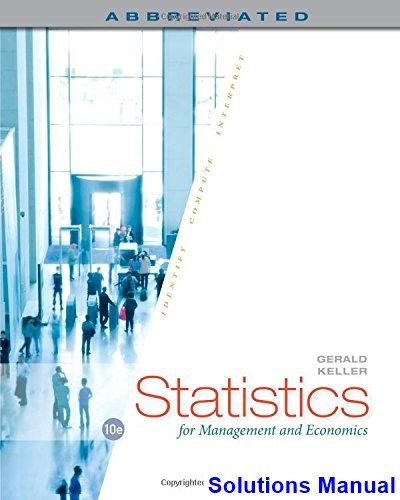 57 best solution manual download images on pinterest textbook statistics for management and economics abbreviated 10th edition gerald keller solutions manual test bank fandeluxe Images