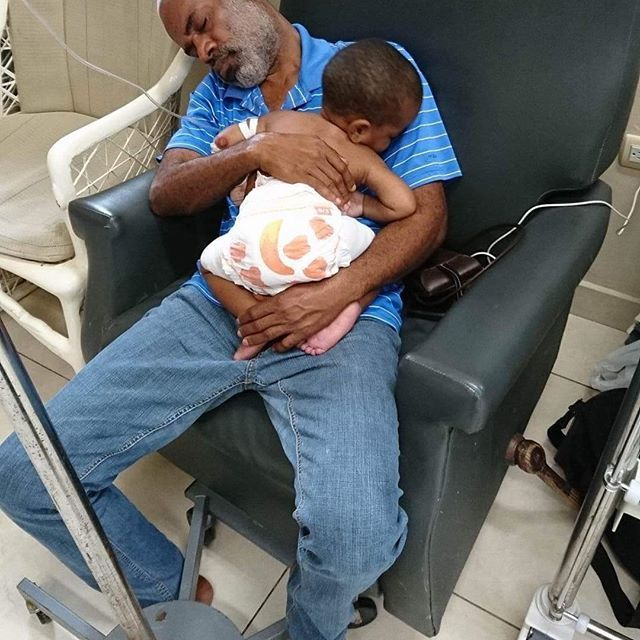 This dad brought his son to our medical center this week with severe burns all over his back and stomach from falling into a pot of boiling water. His loving father has never left his side. This is why we do what we do...to help relieve the suffering of children and their families. Please keep this precious boy and his family in your prayers.
