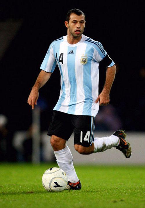 Javier Mascherano Argentina World Cup 2014