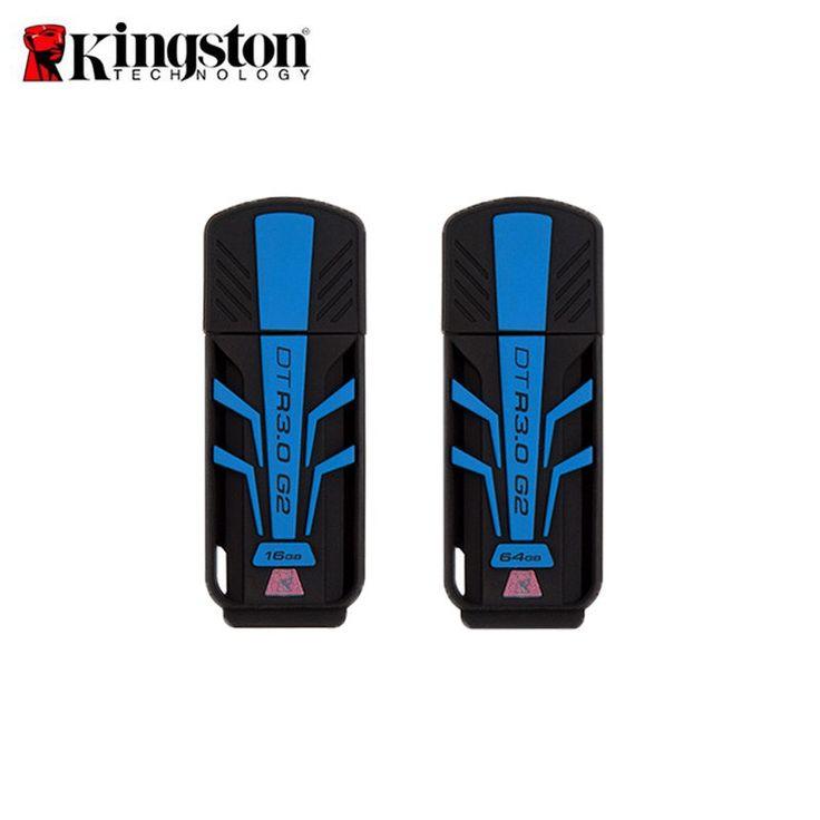 Original Kingston Data Traveler R3.0 G2 Flash Disk USB 3.0 16GB 64GB USB Flash Drive Pendrive #Affiliate