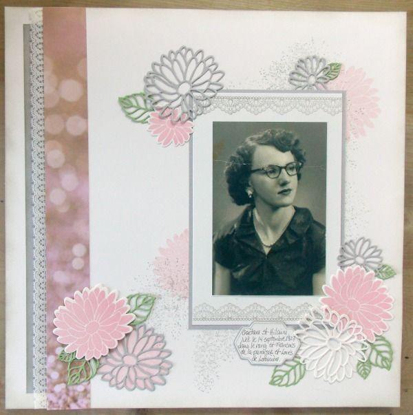 Les créations d'Evelyne: Un air vintage