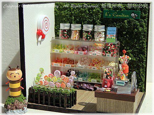 My Dollhouse Miniature の Candies Shop