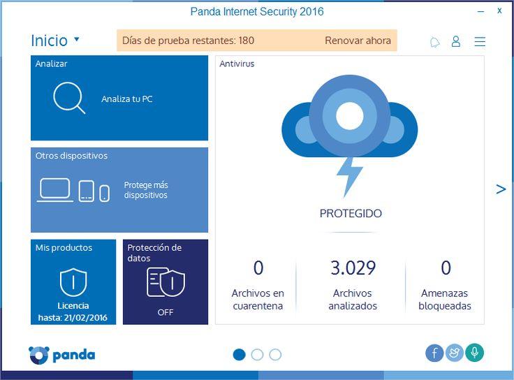 Panda Internet Security 2016 Free Grátis [ 6 Meses ] | hardwareysoftware.net