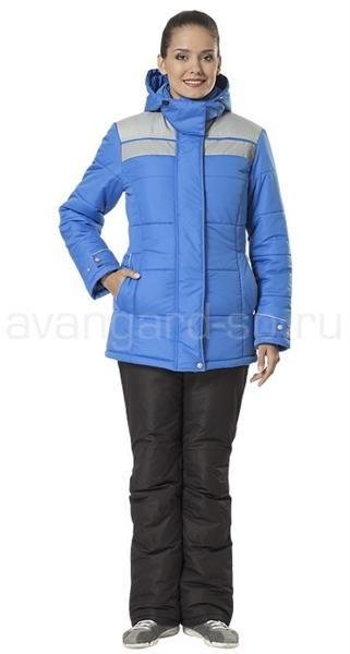 Зимняя куртка женская спецодежда