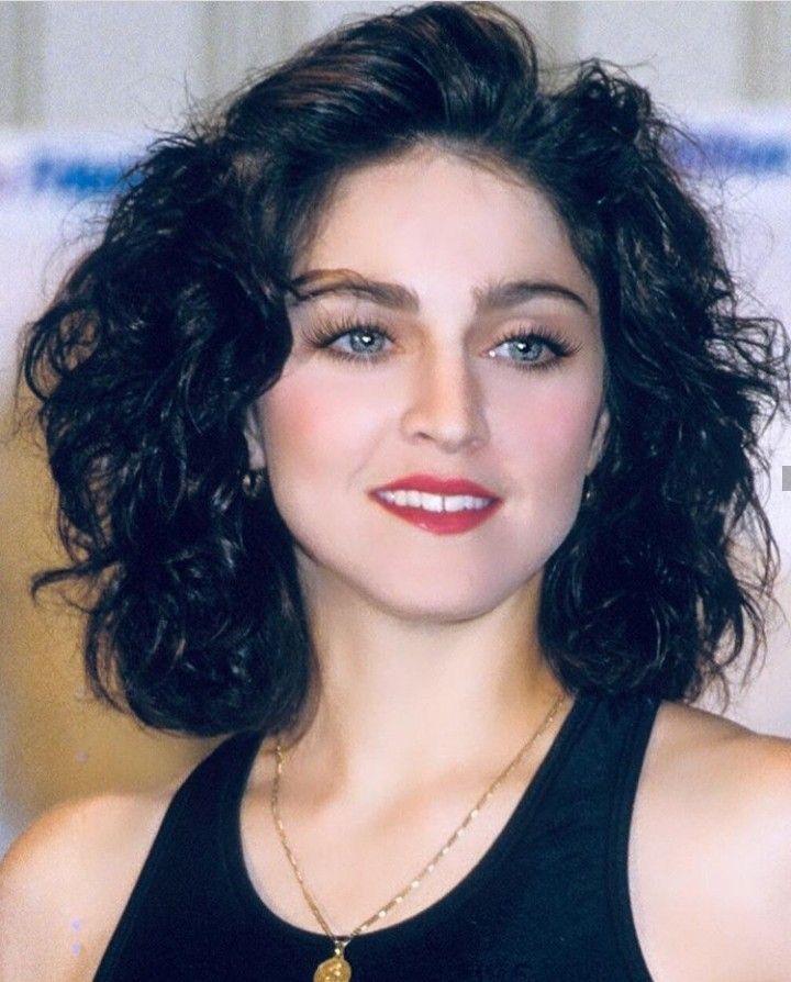Madonna Dark Hair : madonna, Madonna, Looks,, Rare,, Photos