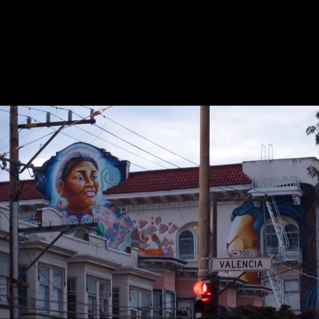 Street Art San Francisco Valencia Street