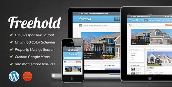 Freehold - Responsive Real Estate Theme