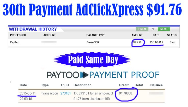 Ad Click Xpress is Paying 30th Payment $91.76 to PayToo	 Earn 4% daily: http://www.adclickxpress.com/?r=xSpueJXBJ6&p=mx