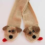 Puppy Pocket Scarf  - via @Craftsy