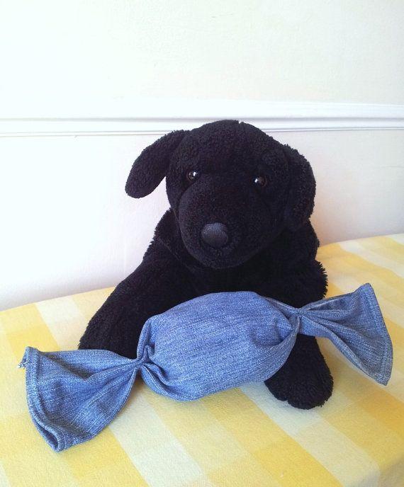 Large Sweet Dog Chew Toy Puppy Toy by WolfspeakersWorkshop