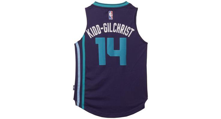 adidas Kids' Michael Kidd-Gilchrist Charlotte Hornets Swingman Jersey