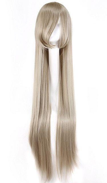 Nouveau produit : Perruque longue blond cendre gris lisse 100cm cosplay Vous aimez ? / New product do you like ? Prix: 27.90 #new #nouveau #japanattitude #perruques #perruque #cosplay #long #lisse #blond #cendre #gris #mèche #cheveux #manga #100cm #wig #straight #silver #grey #ash #blonde #gray #hair #casual #fashion