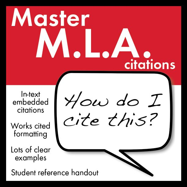 in text mla citation lecture