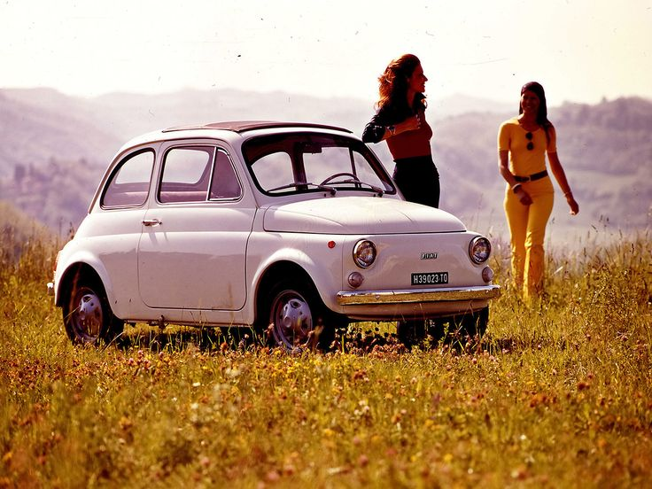Fiat 500, 1975. For the Ladies.