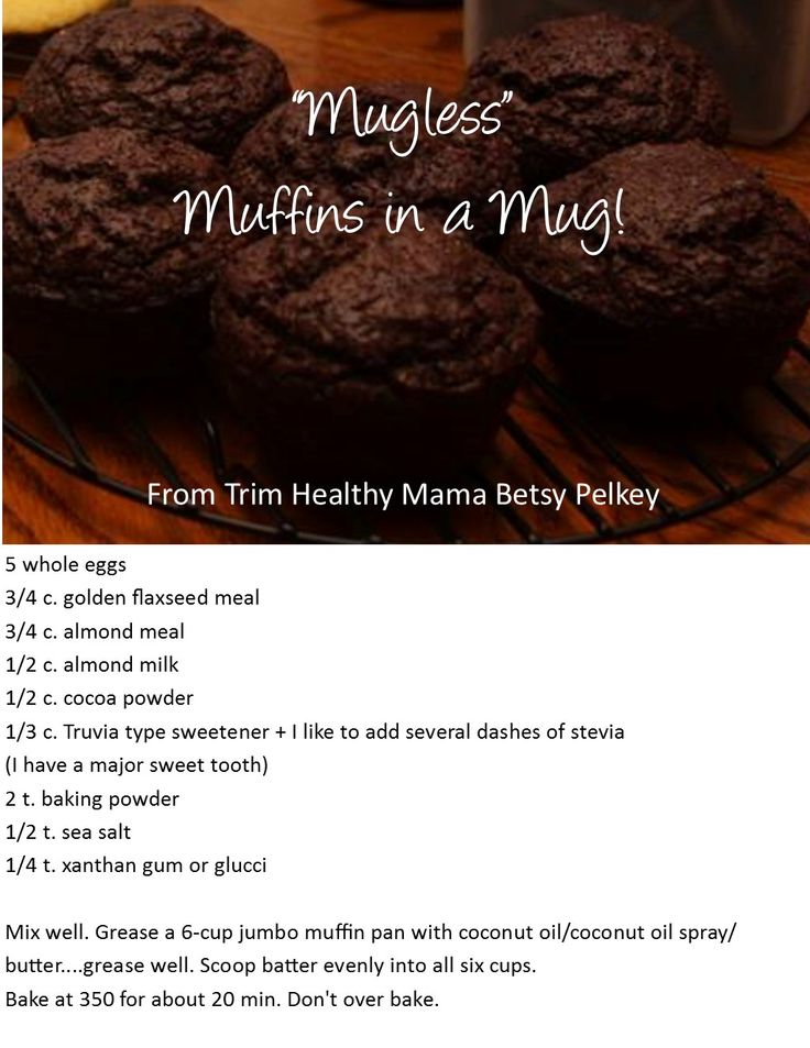 """Mugless"" Muffins in a Mug! by Betsy Pelkey"