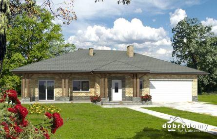 Projekt Domu Halia - parterowy, śliczny domek
