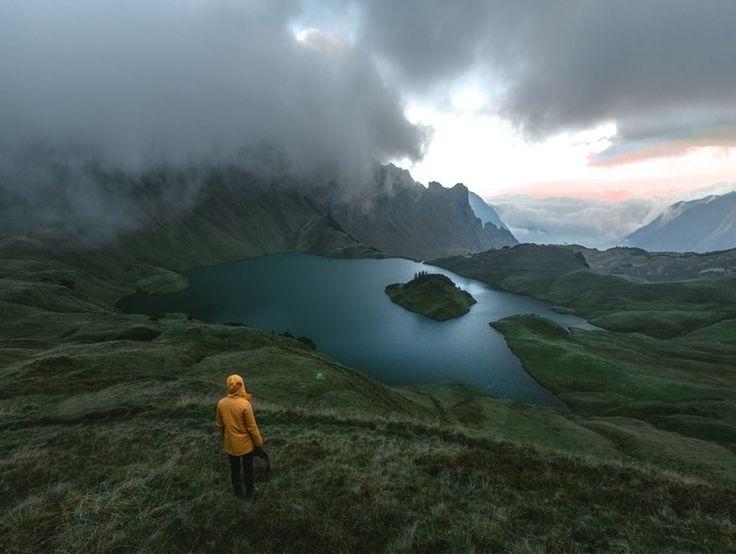 Schrecksee in den Bayerischen Alpen