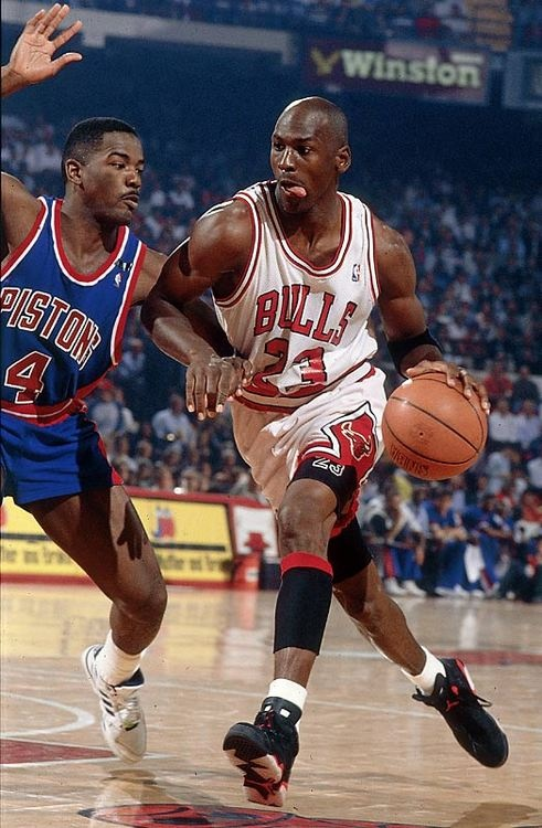 Michael Jordan Chicago Bulls Joe Dumars Detroit Pistons