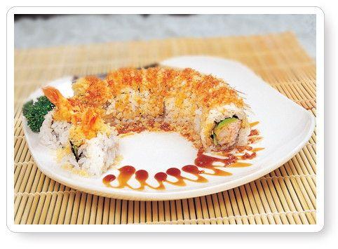 crunchy shrimp tempura roll