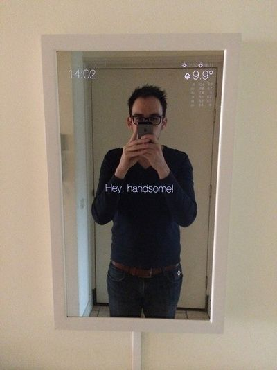 Magic Mirror | another Raspberry Pi project -- I want one of these too!