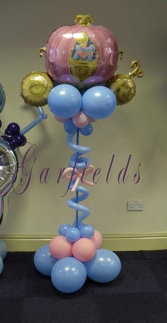 Princess Balloon Column