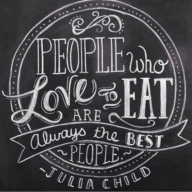 The wisdom on Julia Child.