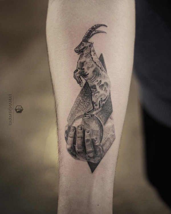 Steenbok Tattoo Betekenis En Oorsprong 30x Tattoo