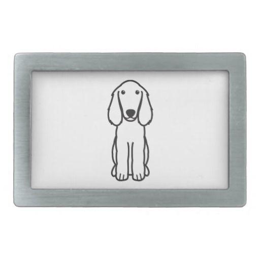 Boykin Spaniel Dog Cartoon Belt Buckle