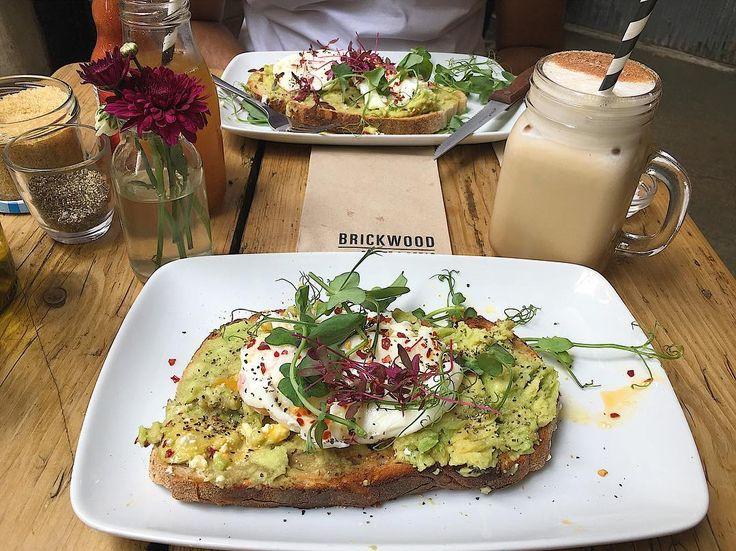 """120 Likes, 1 Comments - m a n s i p a t e l (@mansixo) on Instagram: """"Breakfast at @brickwoodldn 🥑🍞😍 #brickwoodcafe #foodie #londonfoodie"""""""