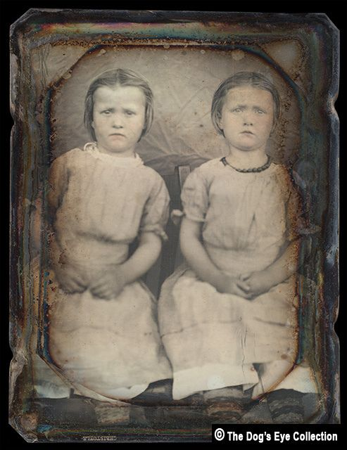 Twins: Daguerreotype 1840's by The Dog's Eye, via Flickr